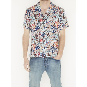 HAWAII FIT VISCOSE SHIRT 155234