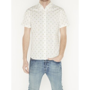 REGULAR FIT AL-OVER PRINTED SHORTSLEEVE SHIRT 155249