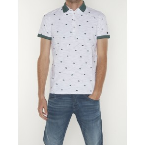 SHORT SLEEVE POLO INJECTED SLUB PIQUE STRETCH-CPSS204880