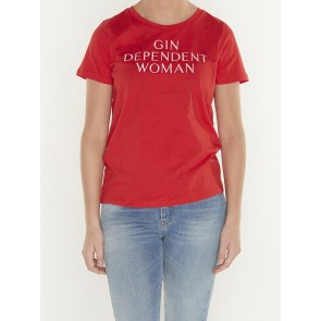 GIN DEPENDENT WOMEN RED