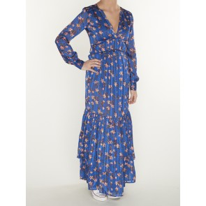 MIDI DRESS WITH PIPING DETAILS 155962