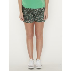 PRINTED SHORTS IN DRAPEY QUILITY 156420