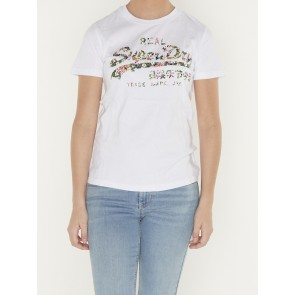 VL GLOSS FLORAL ENTRY TEE