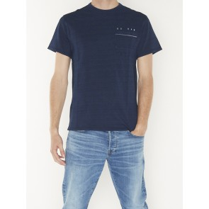 INDIGO RAW EMBRO R TEE