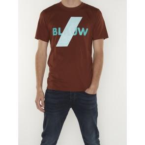 BASIC BLAUW TEE 156809