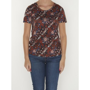 ALLOVER PRINTED TEE 160489