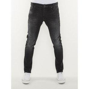 D-STAQ 5-PKT SLIM-ELTO BLACK SUPERSTRETCH-MEDIUM AGED FADED