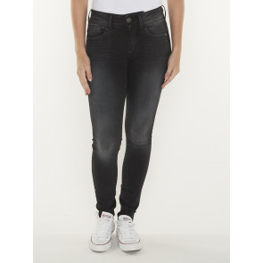 LYNN MID SUPER SKINNY-ELTO NERO ULTIMATE STRETCH-DUSTY GREY