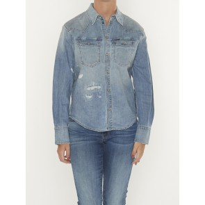 WESTERN DENIM RELAXED SHIRT