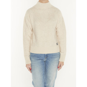 UTILITY CABLE MOCK KNIT