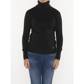 CROYDE CABLE ROLL NECK