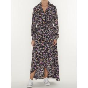 VIVIAN FLOWER BLAZER COLLAR DRESS