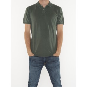 GARMENT-DYED STRETCH POLO 158577