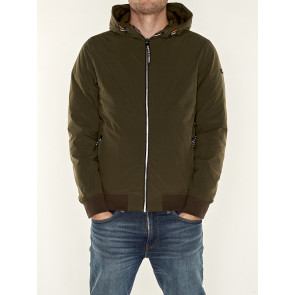 HOODED QUILTED JACKET 158270