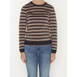 BASIC STRIPED PULLOVER 159214
