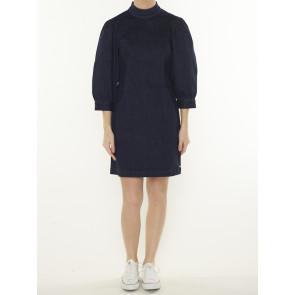 AMS BLAUW STRETCH DENIM DRESS 159996