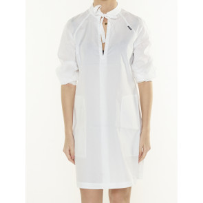 V-NECK TUNIC DRESS