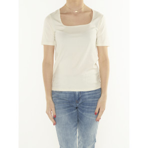 FITTED SQUARE NECK TEE 161717
