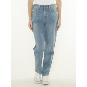NORA LOOSE TAPERED-FADED BLUE