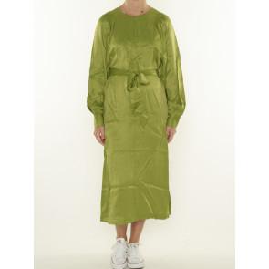 VOLUMINOUS-SLEEVED DRESS 163859